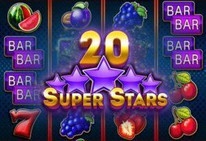 20 Slot Bintang Super dengan uang sungguhan