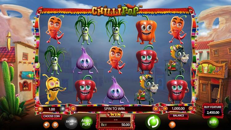 Slot Chilli Pop dengan uang sungguhan