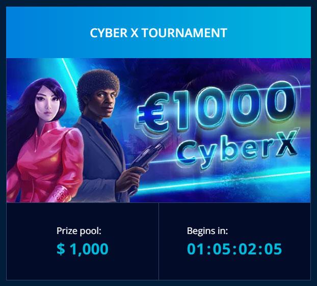 Turnamen Cyber X - Mr Bit Casino