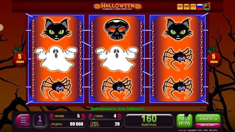 Slot Halloween untuk uang sungguhan