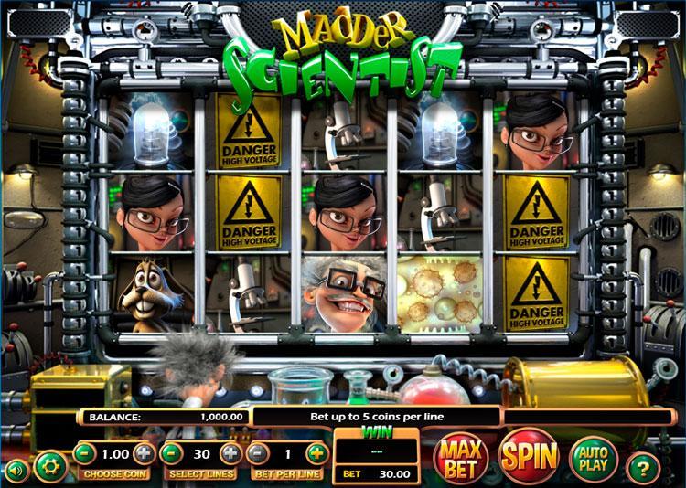 Slot Madder Scientist untuk uang sungguhan
