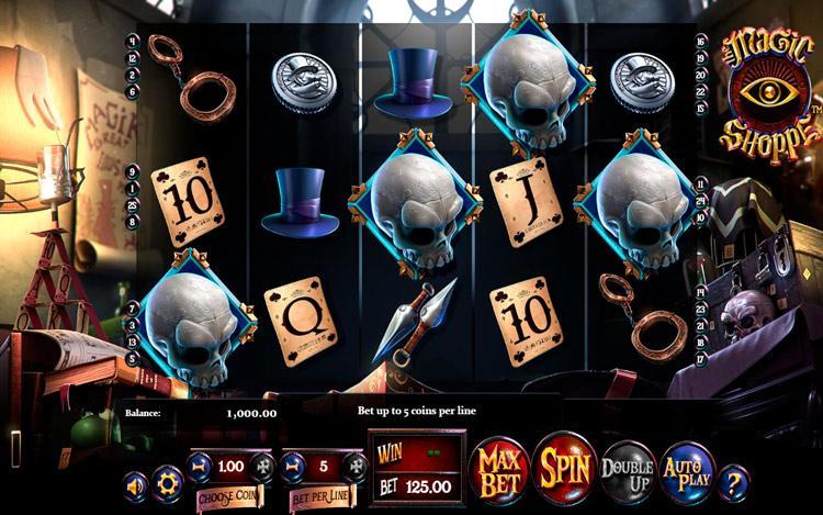 Slot Magic Shoppe untuk uang sungguhan oleh BetSoft