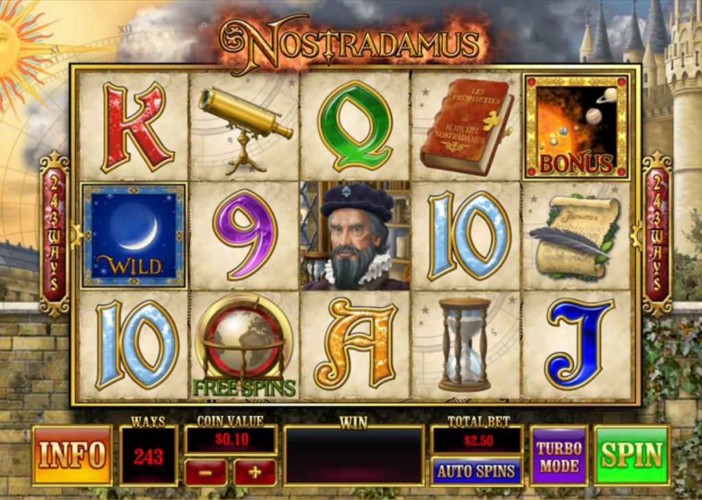 Slot Nostradamus untuk uang sungguhan
