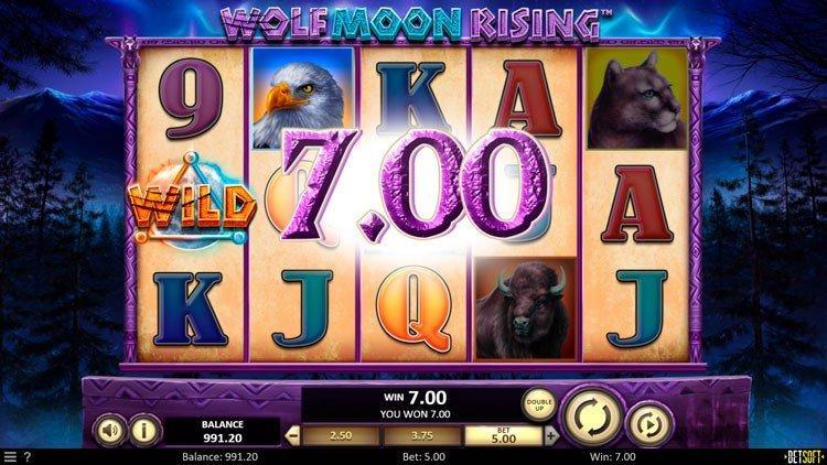 Slot Wolf Moon Rising untuk uang sungguhan oleh BetSoft