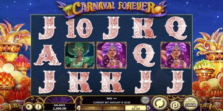 Slot Carnaval Forever untuk uang sungguhan oleh BetSoft
