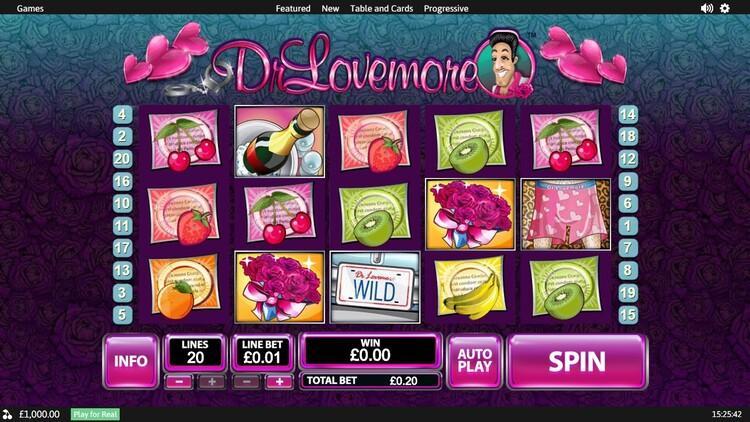 Slot Dr. Lovemore untuk uang sungguhan oleh Playtech