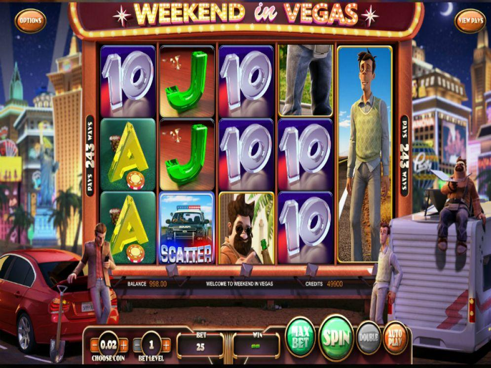 Slot akhir pekan di Vegas dengan uang sungguhan oleh BetSoft