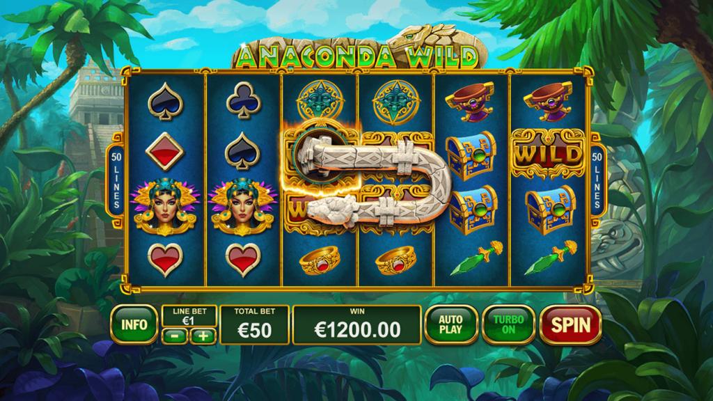Slot Anaconda Wild untuk uang sungguhan oleh Playtech