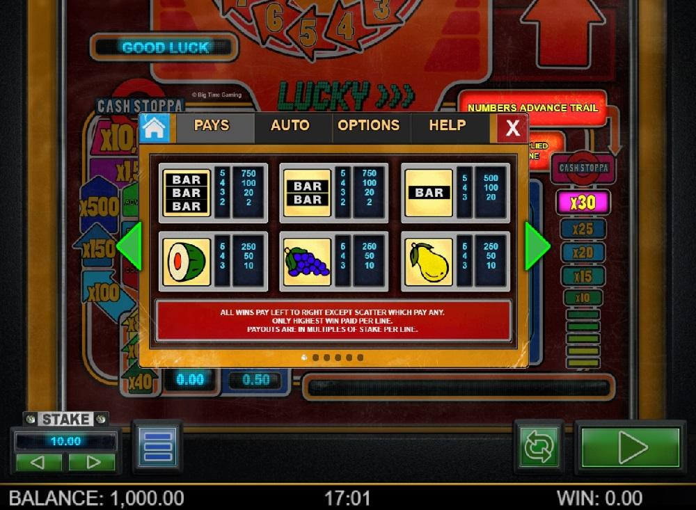 Slot Lucky Streak untuk uang sungguhan oleh Big Time Gaming