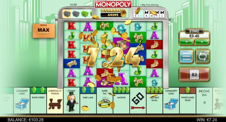Slot Monopoli Megaways untuk Uang Asli