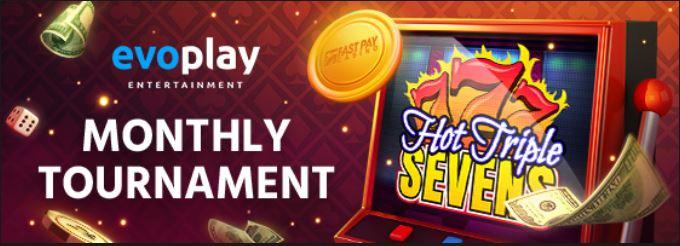 Turnamen Evoplay Bulanan di Fastpay Casino