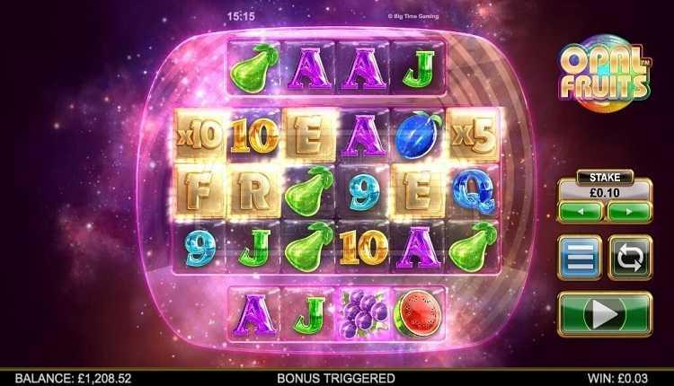 Slot Buah Opal untuk uang sungguhan oleh Big Time Gaming