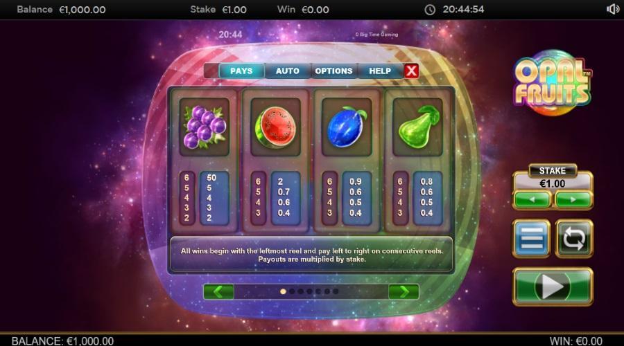 Slot Buah Opal untuk uang sungguhan